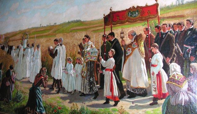Procession Fete-Dieu