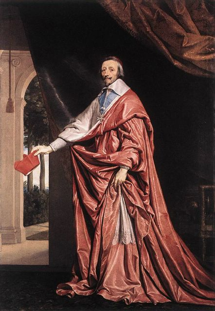 le cardinal de Richelieu en cappa