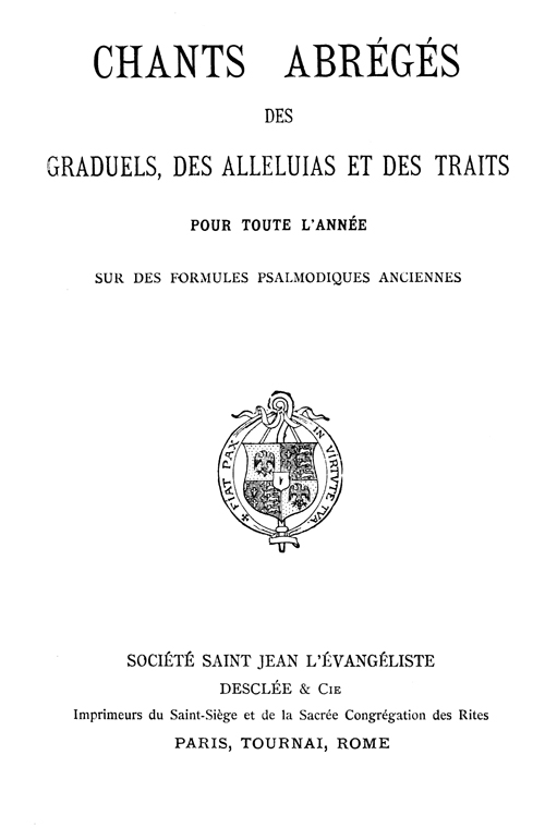 Chants abrgs de 1930