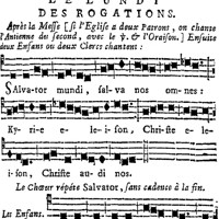 Litanies parisiennes des Rogations