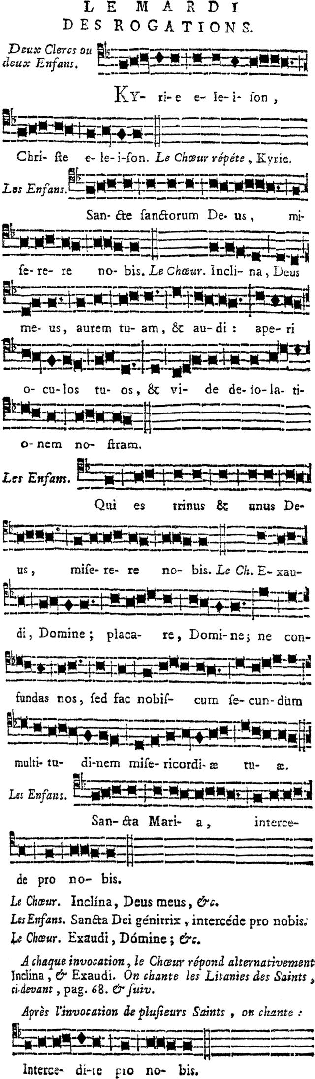litanie des saints en latin