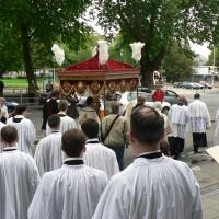 Sortie de la procession