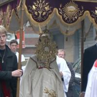 Procession du Très-Sacrement dans les rues de Liège