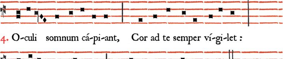 Hymnus Christe qui lux es et dies