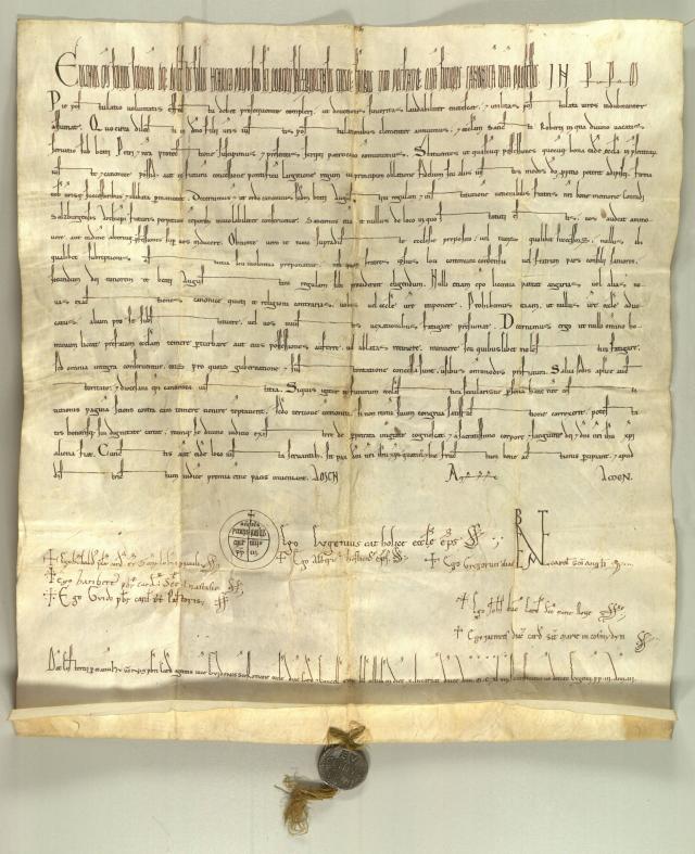 Bulle Pie postulatio voluntatis reconnaissant l'Ordre de Malte
