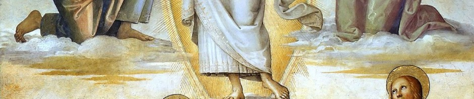 Pietro Perugino : La Transfiguration de Notre Seigneur (1496)