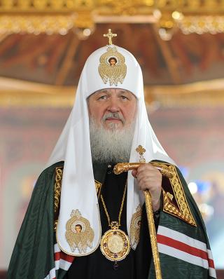 Sa Sainteté Cyrille Ier, patriarche de Moscou & de toutes les Russie