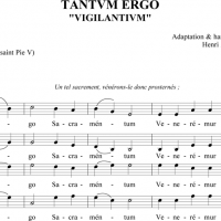 Tantum ergo  4 voix sur le Chant de l&#039;Esprance