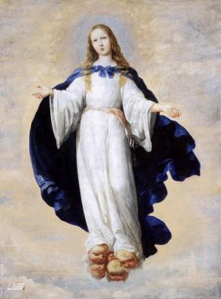 Francisco de Zurbaran - l'Immaculée Conception - 1664