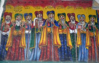 Les neufs saints syriens qui évangélisèrent les campagnes d'Ethiopie au VIème siècle