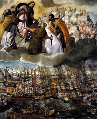 La victoire de Lépante peinte par Paul Véronèse