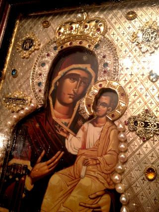 L'icône myrroblite de Notre-Dame des Ibères d'Hawaii
