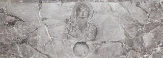Pierre tombale de saint Thomas, de facture mésopotamienne, conservée à Ortona avec les reliques du crâne de saint Thomas