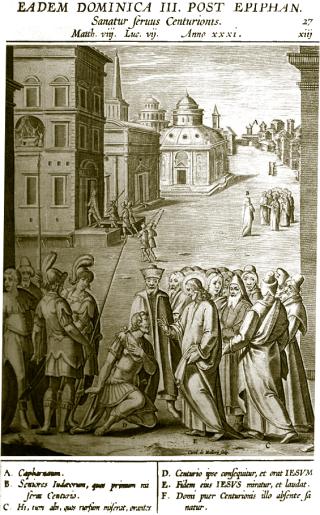 3ème dimanche après l'Epiphanie - guérison de l'esclave du centurion