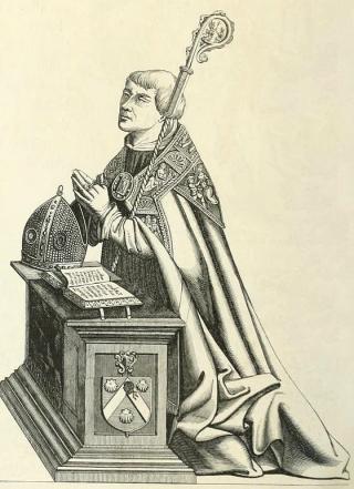 Etienne Poncher, évêque de Paris.