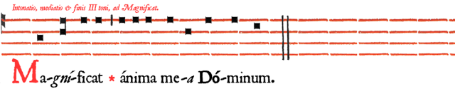 Magnificat IIIème ton en B