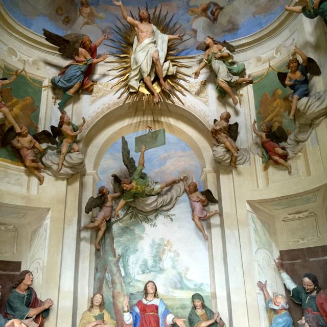 L'Ascension - Sacro Monto d'Ossucio - Lombardie