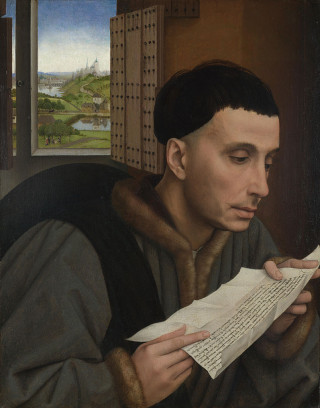Saint Yves portraituré par Rogier van der Weyden