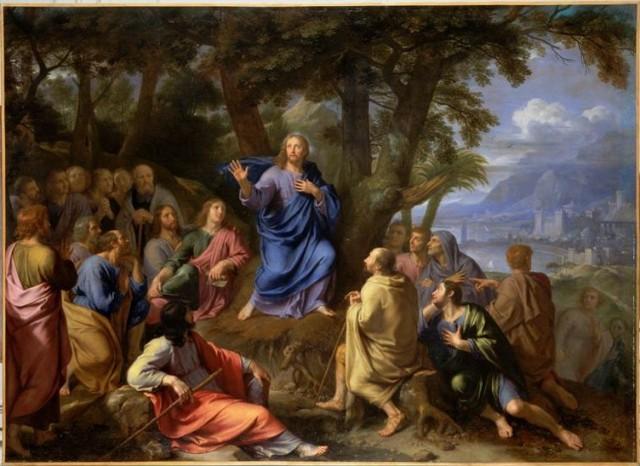 Philippe de Champagne - le Sermon sur la Montagne